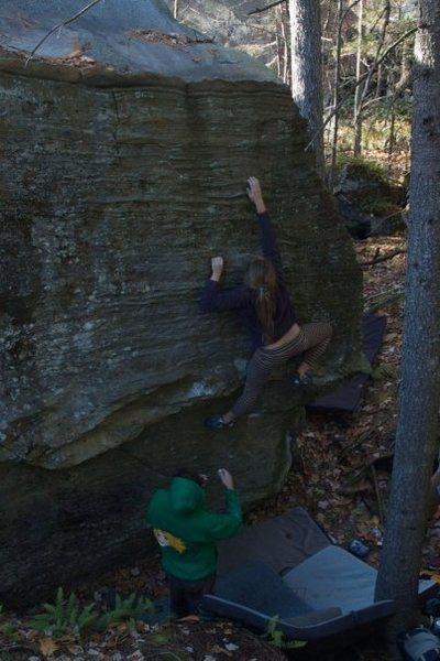 Rock Climbing Photo: Rachel Minery