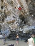 Rock Climbing Photo: babes in thailand 11d - bolt bouldering, my favori...