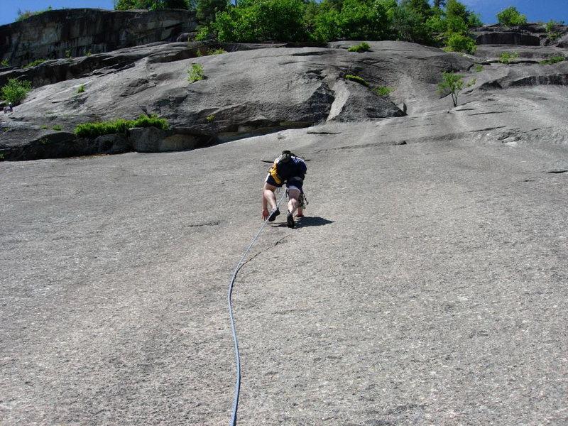 Rock Climbing Photo: Pitch 2 (J.Stone)