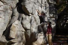 Rock Climbing Photo: Butter on Bread.