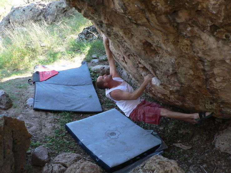Rock Climbing Photo: Tubac Arizona 12-B