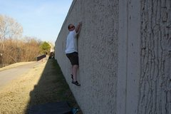 Rock Climbing Photo: Tulsa Hunters Park