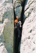 Rock Climbing Photo: Nice trad, past Fiath.