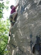 Rock Climbing Photo: Question of Balance