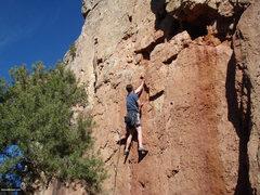 Rock Climbing Photo: PTK.