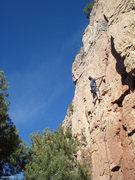 Rock Climbing Photo: PTK midway.