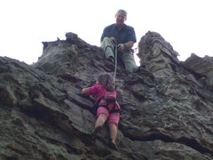 Rock Climbing Photo: My oldest granddaughter and I ejoying a good day o...