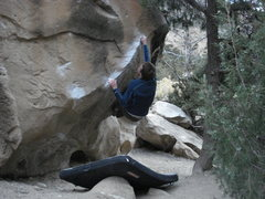 Rock Climbing Photo: willo on the umwa boulder