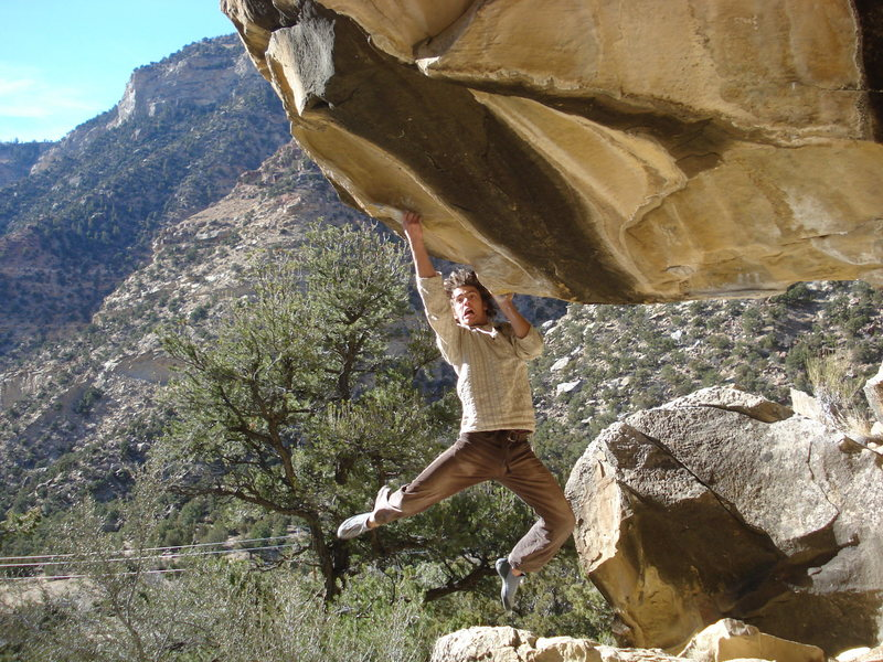 Rock Climbing Photo: something crazy  photo by willo schubarth