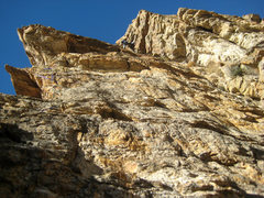 Rock Climbing Photo: Me on pitch 4.