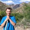 Hiking down Sabino Canyon, Tuscon , AZ