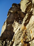 Rock Climbing Photo: Late afternoon in November.