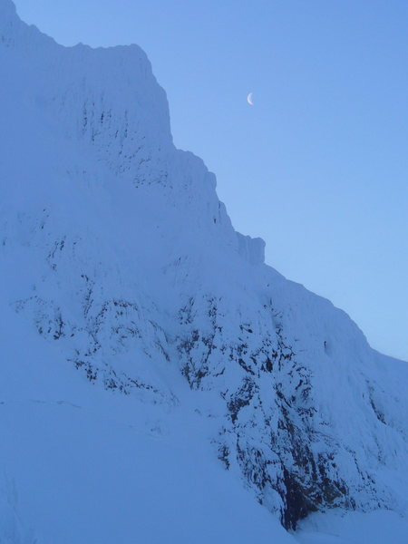 Rock Climbing Photo: View from Yocum Ridge Mt. Hood