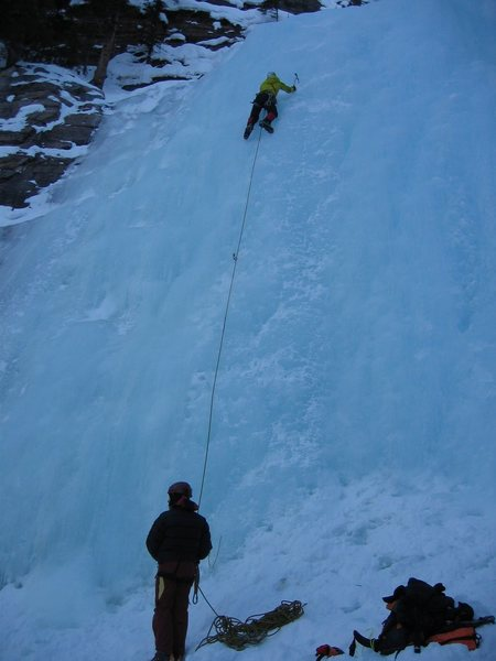 Rock Climbing Photo: Lake Louise Canada