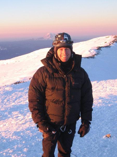 Rock Climbing Photo: Summit of Mt. Rainier