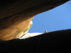 Rock Climbing Photo: Looking up, more Rappelling Chay Desa Tay. The Chi...