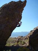 Rock Climbing Photo: Tsunami Boulder