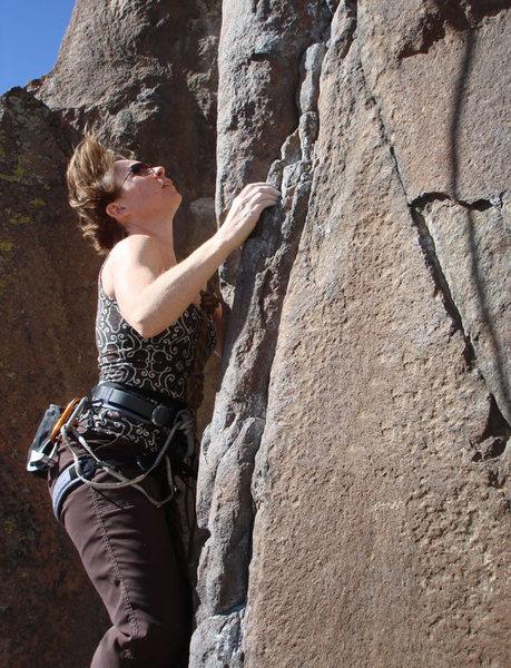 Rock Climbing Photo: Nicole
