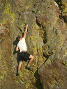 Rock Climbing Photo: JD on Silver Surfer