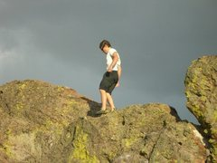 Rock Climbing Photo: The Top