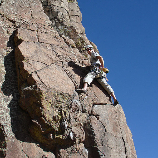 Rock Climbing Photo: Shawn