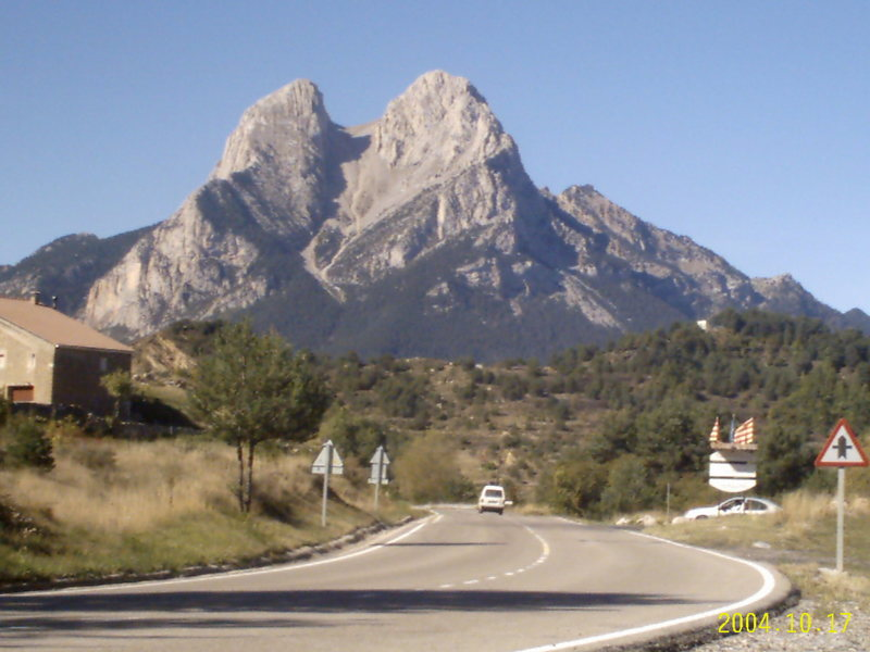 Rock Climbing Photo: El Pedraforca