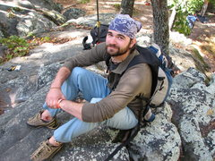 Rock Climbing Photo: Sitting around during Triplecrown.