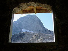 Rock Climbing Photo: Morning view from Applebee outhouse.