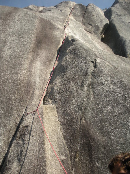 Rock Climbing Photo: 'Penny Lane' at Penny Lane, Smoke Bluffs - Squamis...