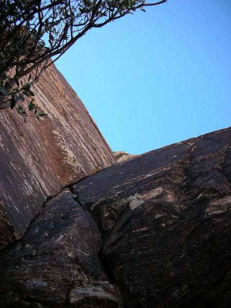 Rock Climbing Photo: Start of Ballantine Blast