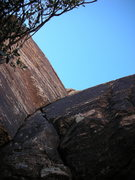Rock Climbing Photo: Start of Ballantine Blast