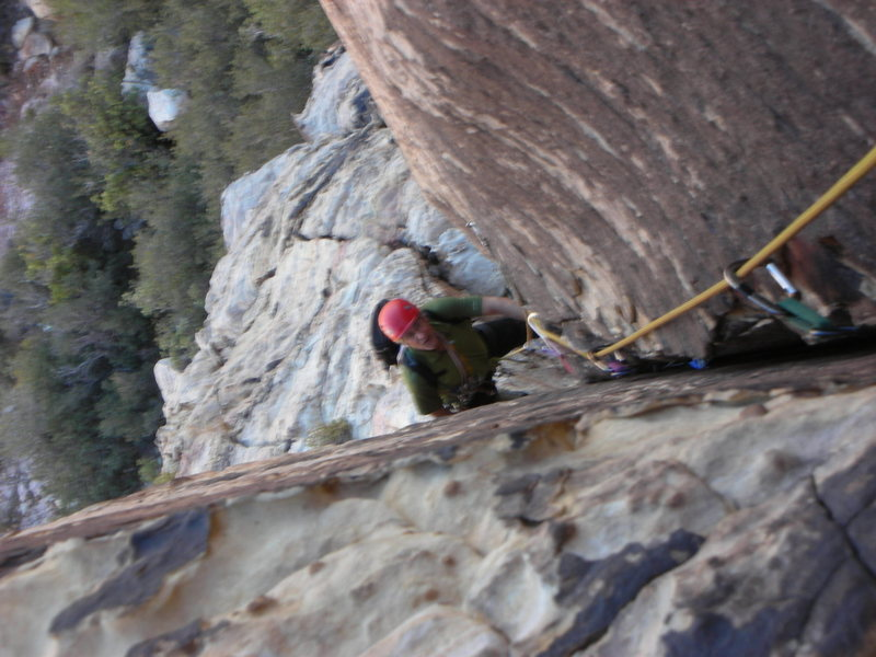 Rock Climbing Photo: The Dihedral W/Bolt!