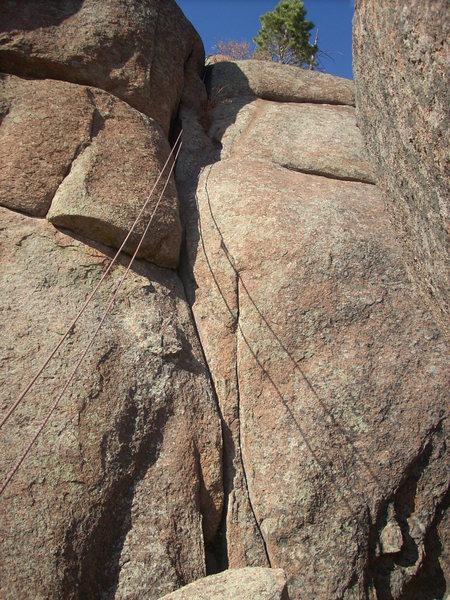Photo of climb.