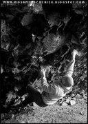 Rock Climbing Photo: Phil at Liberty Park