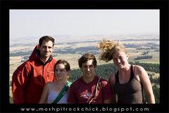 Rock Climbing Photo: At the Top of Big Rock