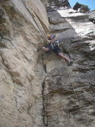 Rock Climbing Photo: FA Blood Diamond