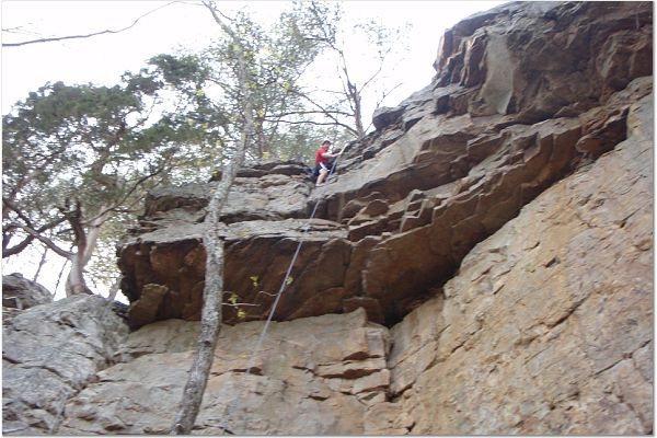 Rock Climbing Photo: Cashmere top.