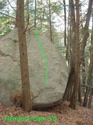 Rock Climbing Photo: Hemlock Gate... The First boulder i ever cleaned.....