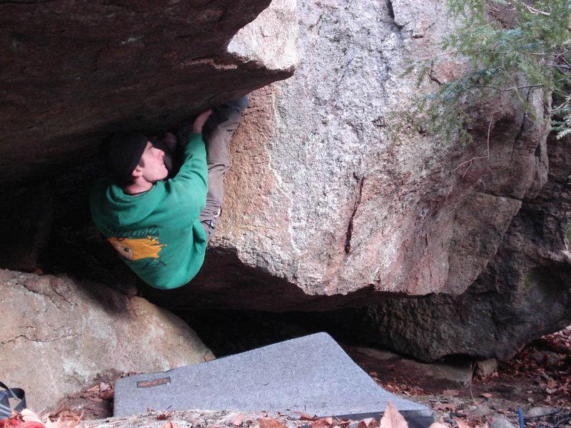 Me Climbing Shadows... Self portrait, haha...
