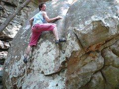 Rock Climbing Photo: Somewhere at Sandrock, AL.
