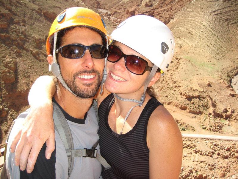 Rock Climbing Photo: Me and Jon