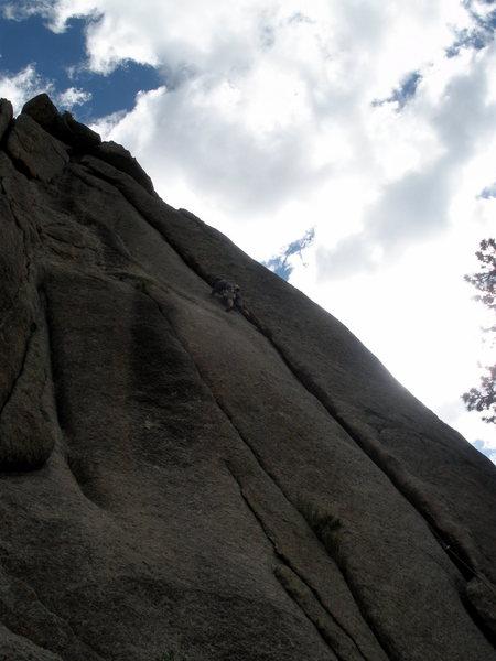Rock Climbing Photo: Slimy day for Gollum.