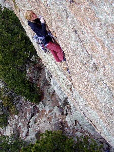 Rock Climbing Photo: Balance.