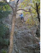Rock Climbing Photo: rock climbing in castlewood canyon