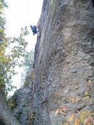 Rock Climbing Photo: rock climbing on the grocery store wall in castle ...