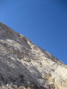 Rock Climbing Photo: Scot Carson on third ascent of pitch 3