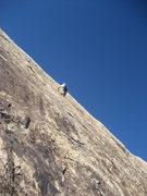 Rock Climbing Photo: Scot on P1