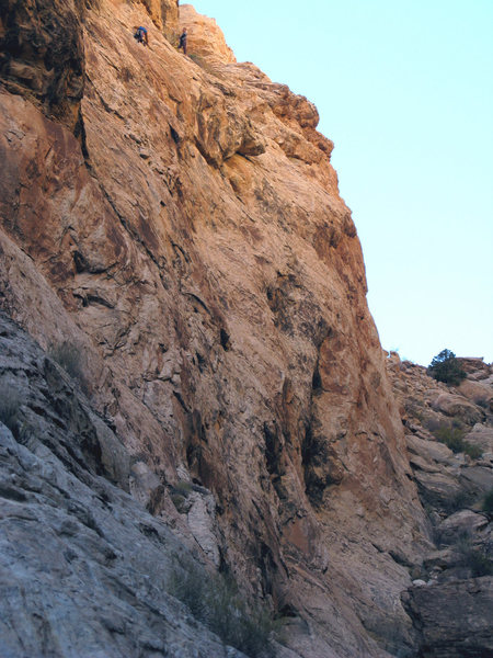 "Rock Climbing Photo: Lance and Paul on the first ascent of ""Under ..."