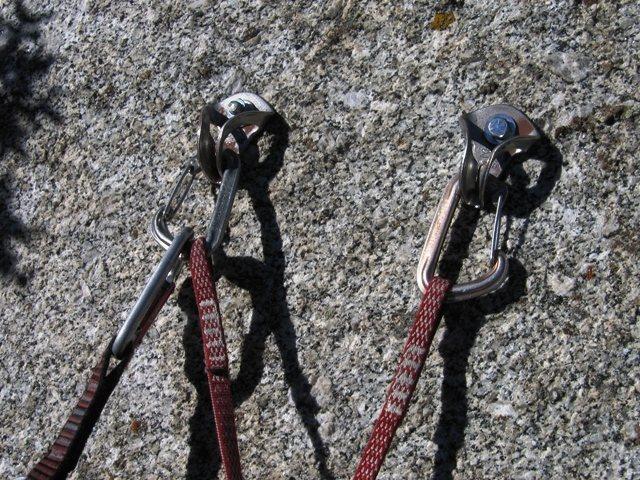 Tingey's Torture anchor.  Bonair hangers.