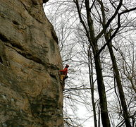 Rock Climbing Photo: Not on the First Date...(maybe on the second), NRG...